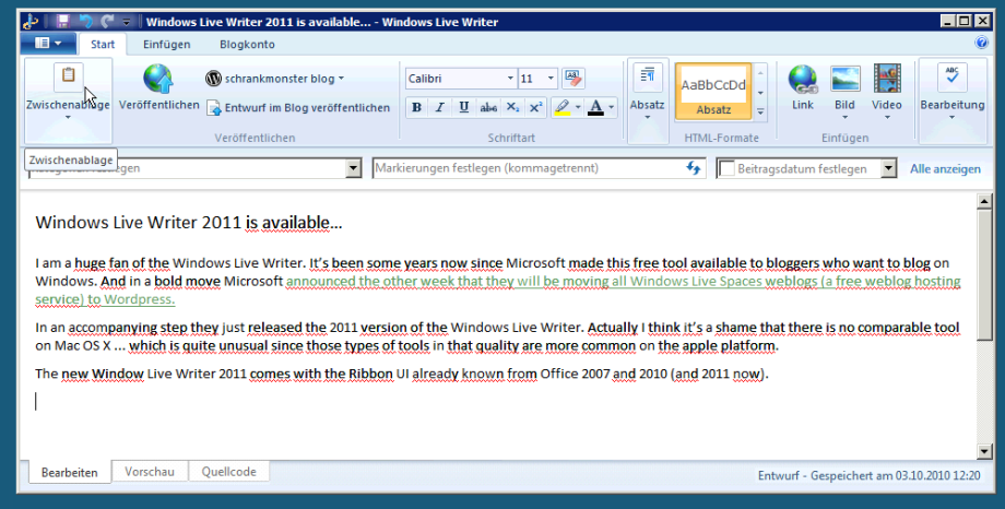screen windows live writer1