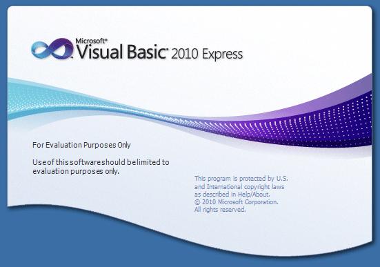 VB 2010 express