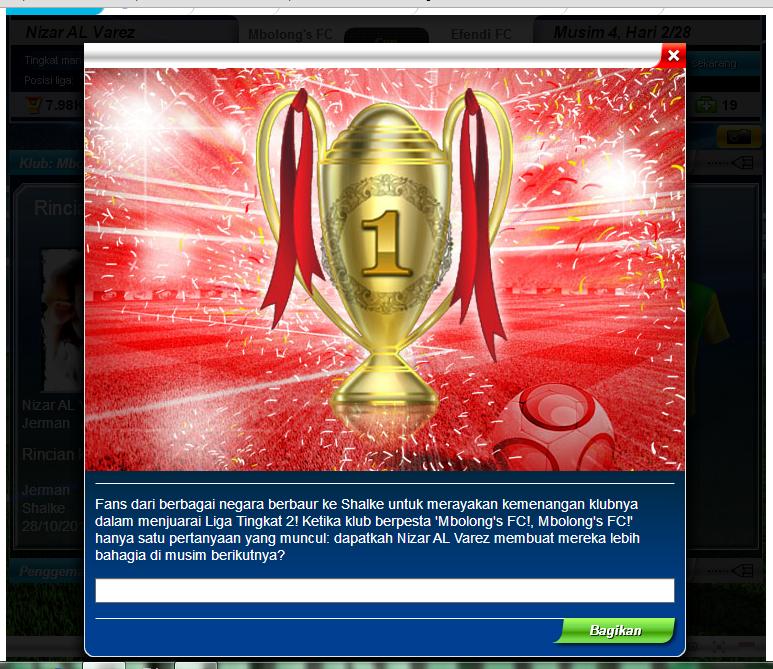 Juara Liga Tingkat 2
