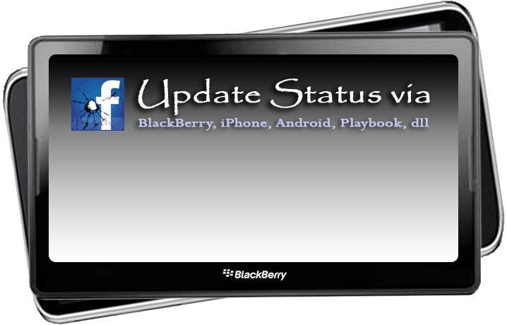 Update status via2
