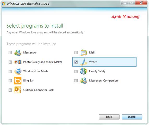 Windows Live Writer2