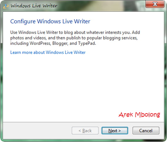 Windows Live Writer5