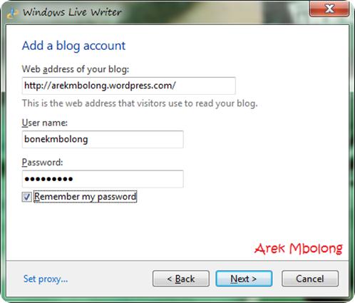 Windows Live Writer7